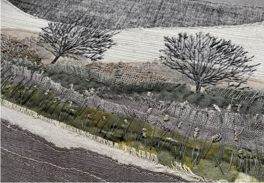 Embroidery and Stitching by Christine Lethlean